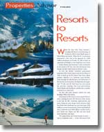 GLV: The Good Life in Vancouver article Resort to Resorts